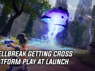 Spellbreak getting cross-platform play at launch