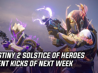 Bungie detailed the next big Destiny 2 event titled Solstice of Heroes