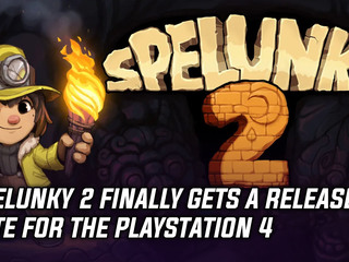 Spelunky 2 finally gets a release date