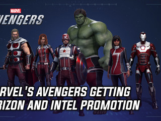 Marvel's Avengers getting Verizon and Intel promotion