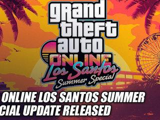 Los Santos Summer Special Update Released For GTA Online