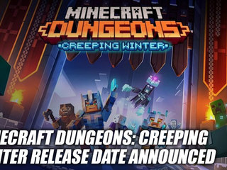 Minecraft Dungeons: Creeping Winter DLC Coming September 8