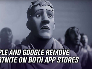 Apple and Google remove Fortnite from app store