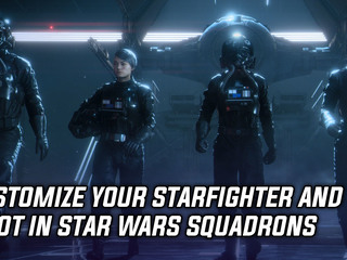 Customize your starfighter and pilot in Star Wars Squadrons