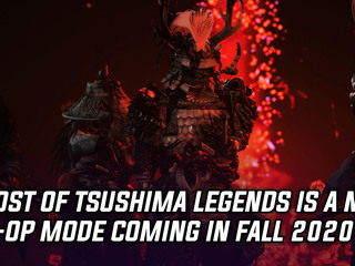 Ghost of Tsushima adding brand new co-op mode in Fall 2020