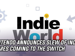 Nintendo announces a slew of Indie Games during showcase