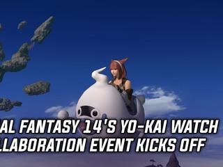 Final Fantasy 14's Yo-kai Watch collaboration event kicks off