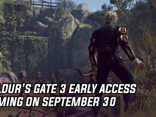 Baldur's Gate 3 Early Access coming on September 30