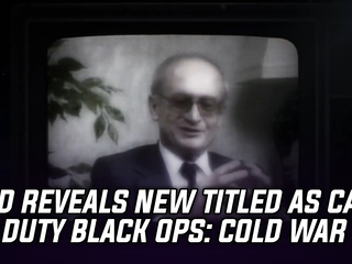 CoD Reveals New Title As Call of Duty Black Ops: Cold War