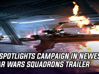 Star Wars Squadrons trailer spotlights campaign