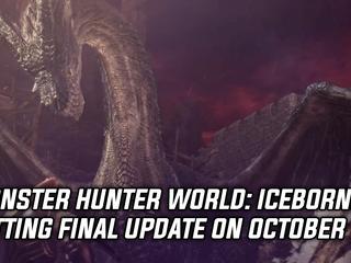 Monster Hunter World: Iceborne getting final title update on October 1