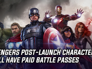 Marvel's Avengers post-launch characters will have paid battle passes