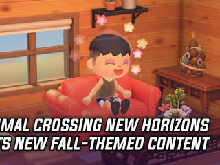 Animal Crossing's Fall season has officially started