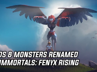 Gods & Monsters renamed to Immortals: Fenyx Rising