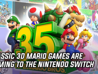 Nintendo celebrates Mario's 35th anniversary with new releases