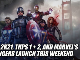 NBA 2K21, THPS 1 + 2, and Marvel's Avengers Launch This Weekend