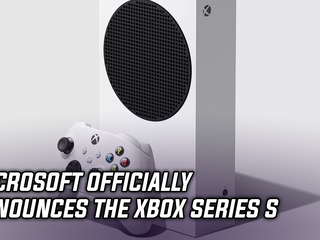 Microsoft officially announces the Xbox Series S