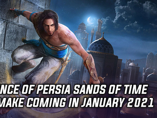 Ubisoft announced Prince of Persia: Sands of Time remake