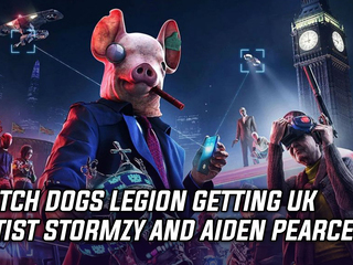 Watch Dogs Legion getting Stormzy and Aiden Pearce