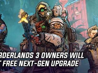 Borderlands 3 owners will get free next-gen upgrade