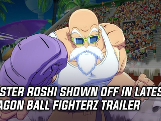 New trailer spotlights Master Roshi's moveset