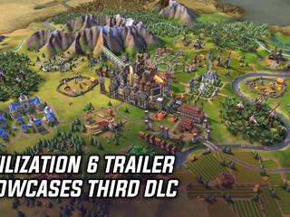 Civilization 6 trailer showcases third DLC