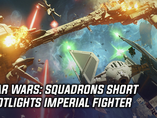 Star Wars: Squadrons short spotlights Imperial fighter