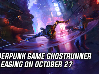 Parkour cyberpunk game Ghostrunner releasing on October 27