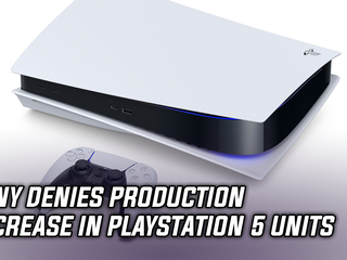Sony denies production decrease in PlayStation 5 units