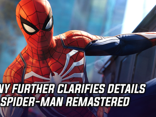 Sony further clarifies details on Spider-Man Remastered