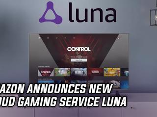 Amazon announces new cloud gaming service Luna