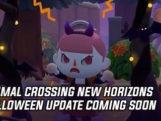Animal Crossing New Horizons Halloween updated coming soon
