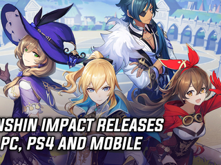 Genshin Impact releases on PC, PS4 and Mobile