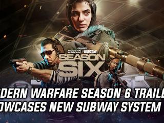 Modern Warfare Season 6 trailer showcases new subway system