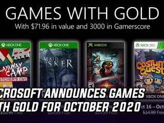 Microsoft announced Games with Gold for October 2020