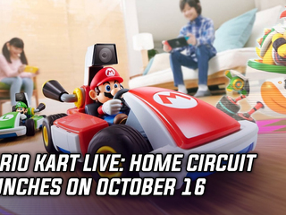 Mario Kart Live: Home Circuit launches on October 16