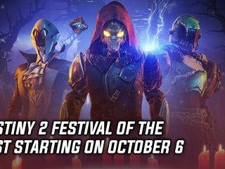 Destiny 2 Festival of the Lost starting on October 6