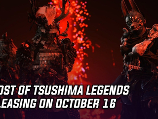 Ghost of Tsushima Legends releasing on October 16