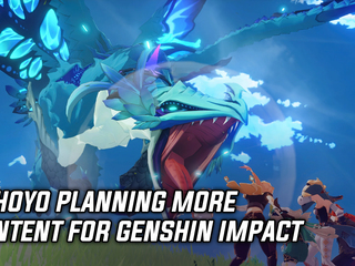 MiHoYo working on more content for Genshin Impact