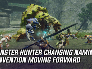 Monster Hunter changing naming convention moving forward