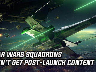 Star Wars Squadrons won't get additional content