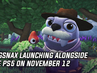 Bugsnax launching alongside the PS5 on November 12