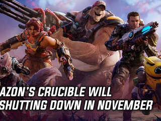 Amazon's Crucible will be shutting down in November