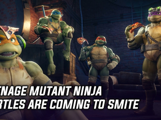 Teenage Mutant Ninja Turtles are coming to Smite