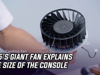 PS5's giant fan explains the size of the console