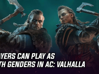 Players can play as both genders in AC: Valhalla