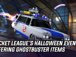 Ghostbusters are coming to Rocket League this Halloween