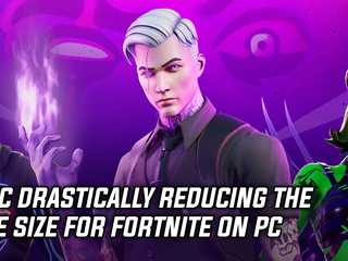 Fortnite is drastically reducing file size on PC