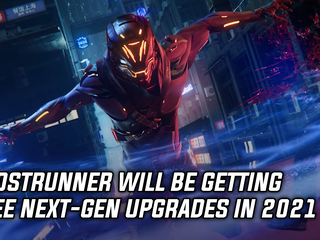 Ghostrunner to get free next-gen update in 2021