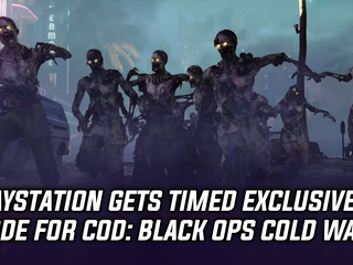 PlayStation gets timed exclusive mode for COD: Black Ops Cold War